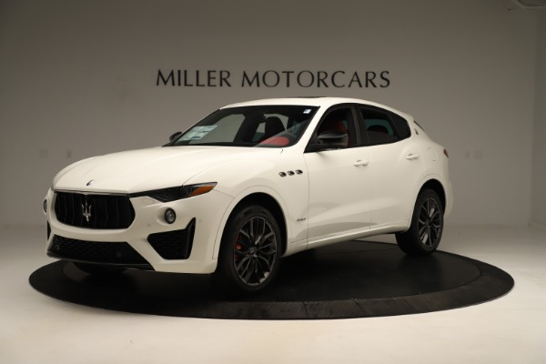 New 2019 Maserati Levante Q4 GranSport Nerissimo for sale $87,845 at Rolls-Royce Motor Cars Greenwich in Greenwich CT 06830 2