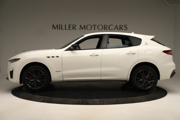 New 2019 Maserati Levante Q4 GranSport Nerissimo for sale $87,845 at Rolls-Royce Motor Cars Greenwich in Greenwich CT 06830 3