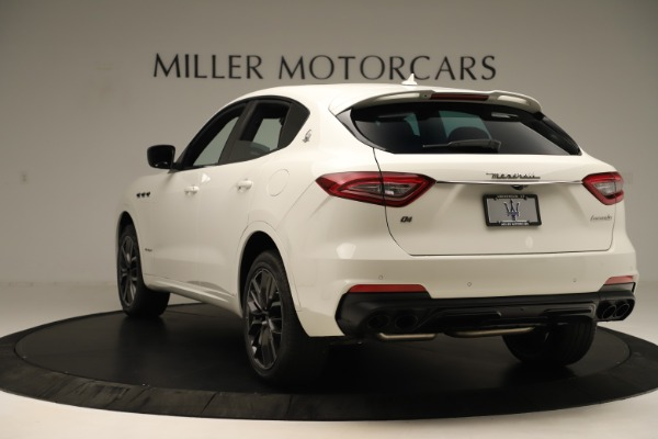 New 2019 Maserati Levante Q4 GranSport Nerissimo for sale $87,845 at Rolls-Royce Motor Cars Greenwich in Greenwich CT 06830 5