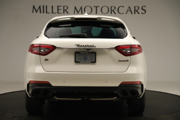 New 2019 Maserati Levante Q4 GranSport Nerissimo for sale $87,845 at Rolls-Royce Motor Cars Greenwich in Greenwich CT 06830 6
