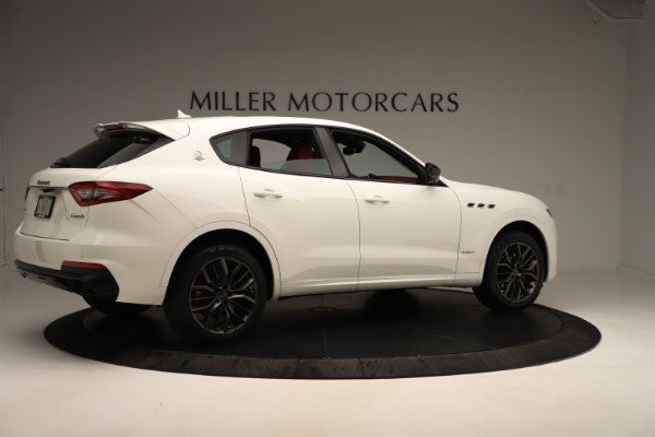 New 2019 Maserati Levante Q4 GranSport Nerissimo for sale $87,845 at Rolls-Royce Motor Cars Greenwich in Greenwich CT 06830 8