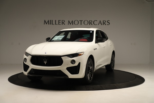 New 2019 Maserati Levante Q4 GranSport Nerissimo for sale $87,845 at Rolls-Royce Motor Cars Greenwich in Greenwich CT 06830 1