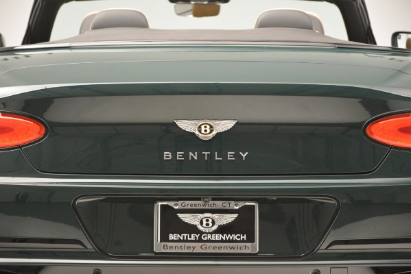 New 2020 Bentley Continental GTC V8 for sale Sold at Rolls-Royce Motor Cars Greenwich in Greenwich CT 06830 26