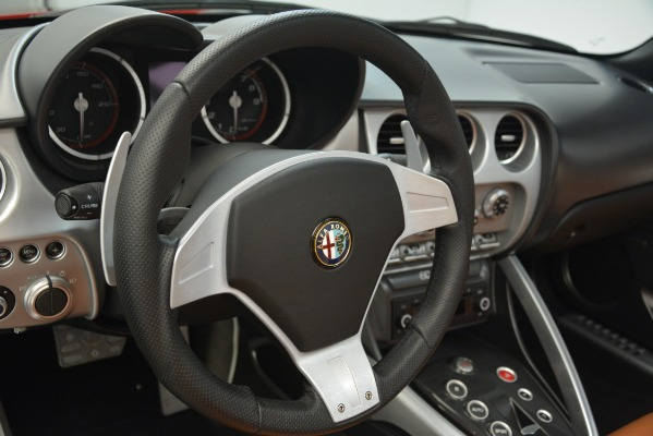 Used 2009 Alfa Romeo 8c Spider for sale Sold at Rolls-Royce Motor Cars Greenwich in Greenwich CT 06830 24