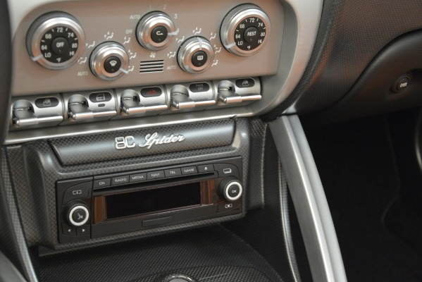 Used 2009 Alfa Romeo 8c Spider for sale Sold at Rolls-Royce Motor Cars Greenwich in Greenwich CT 06830 26