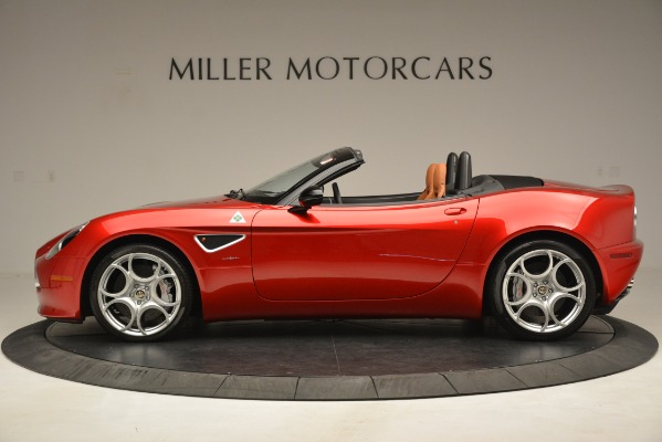 Used 2009 Alfa Romeo 8c Spider for sale Sold at Rolls-Royce Motor Cars Greenwich in Greenwich CT 06830 3