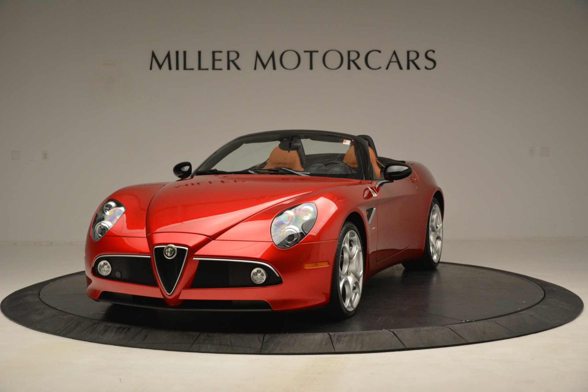 Used 2009 Alfa Romeo 8c Spider for sale Sold at Rolls-Royce Motor Cars Greenwich in Greenwich CT 06830 1