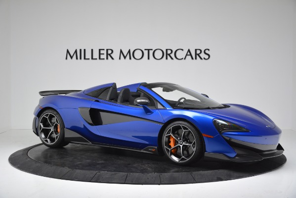 New 2020 McLaren 600LT SPIDER Convertible for sale $304,970 at Rolls-Royce Motor Cars Greenwich in Greenwich CT 06830 10