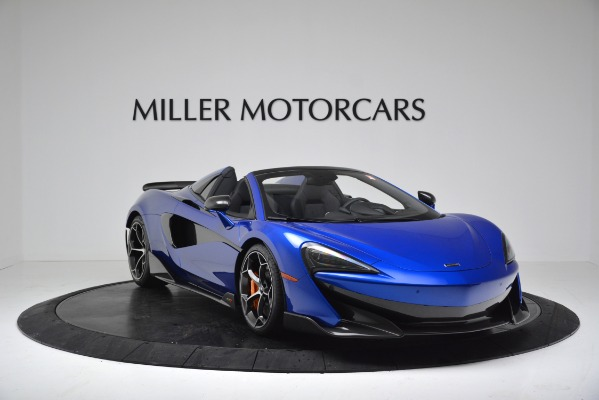 New 2020 McLaren 600LT SPIDER Convertible for sale $304,970 at Rolls-Royce Motor Cars Greenwich in Greenwich CT 06830 11