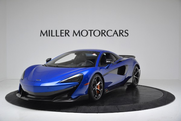 New 2020 McLaren 600LT SPIDER Convertible for sale $304,970 at Rolls-Royce Motor Cars Greenwich in Greenwich CT 06830 12