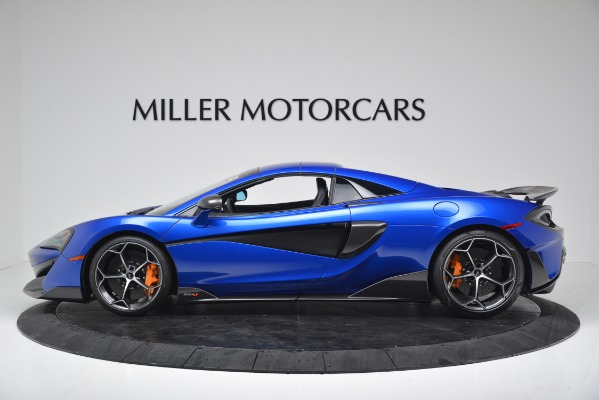 New 2020 McLaren 600LT SPIDER Convertible for sale $304,970 at Rolls-Royce Motor Cars Greenwich in Greenwich CT 06830 13
