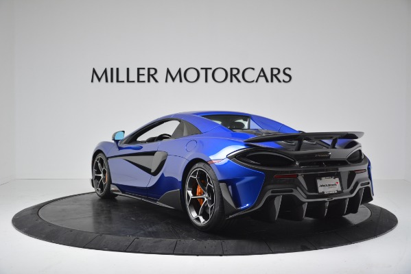 New 2020 McLaren 600LT SPIDER Convertible for sale $304,970 at Rolls-Royce Motor Cars Greenwich in Greenwich CT 06830 14