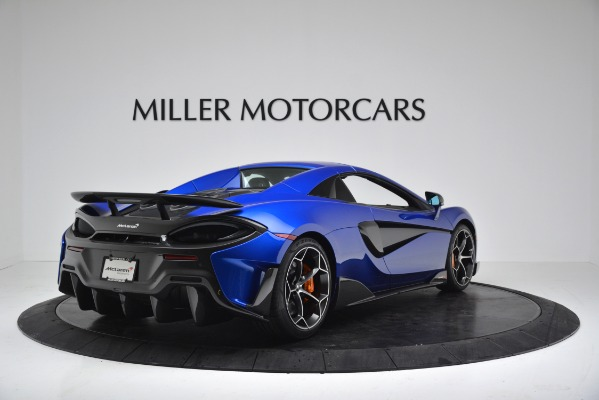 New 2020 McLaren 600LT SPIDER Convertible for sale $304,970 at Rolls-Royce Motor Cars Greenwich in Greenwich CT 06830 15