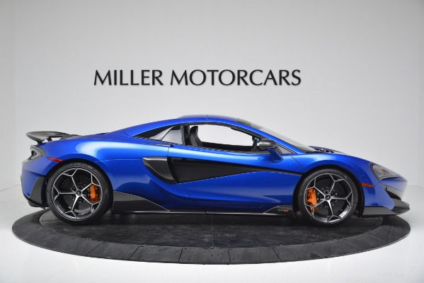 New 2020 McLaren 600LT SPIDER Convertible for sale $304,970 at Rolls-Royce Motor Cars Greenwich in Greenwich CT 06830 16