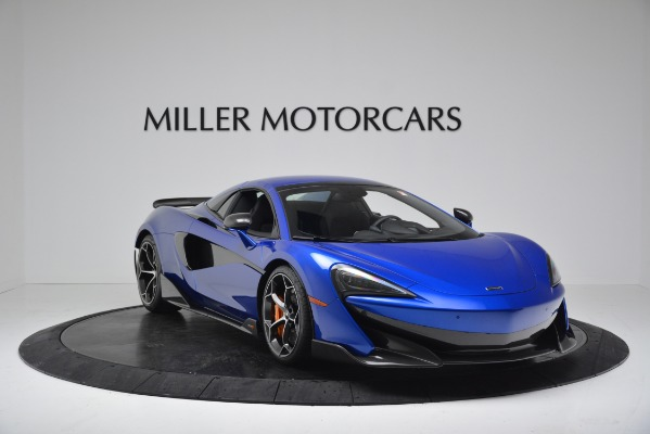 New 2020 McLaren 600LT SPIDER Convertible for sale $304,970 at Rolls-Royce Motor Cars Greenwich in Greenwich CT 06830 17