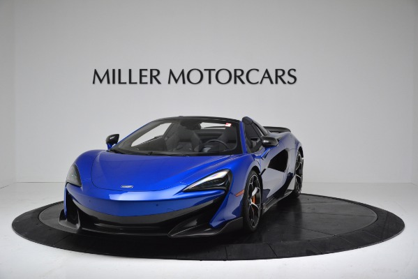 New 2020 McLaren 600LT SPIDER Convertible for sale $304,970 at Rolls-Royce Motor Cars Greenwich in Greenwich CT 06830 2
