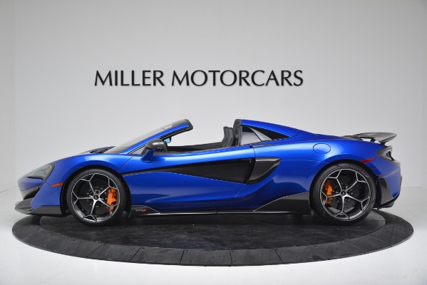 New 2020 McLaren 600LT SPIDER Convertible for sale $304,970 at Rolls-Royce Motor Cars Greenwich in Greenwich CT 06830 3