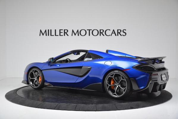 New 2020 McLaren 600LT SPIDER Convertible for sale $304,970 at Rolls-Royce Motor Cars Greenwich in Greenwich CT 06830 4