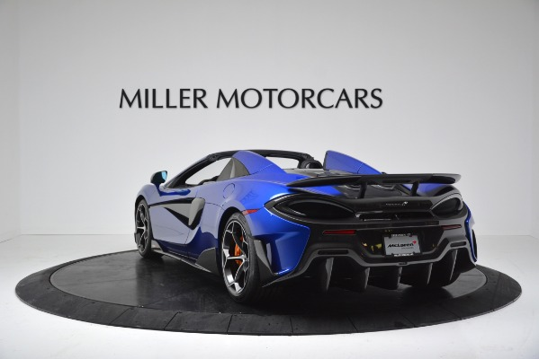 New 2020 McLaren 600LT SPIDER Convertible for sale $304,970 at Rolls-Royce Motor Cars Greenwich in Greenwich CT 06830 5