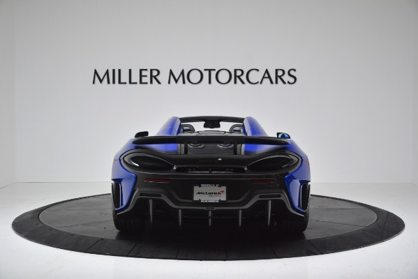 New 2020 McLaren 600LT SPIDER Convertible for sale $304,970 at Rolls-Royce Motor Cars Greenwich in Greenwich CT 06830 6