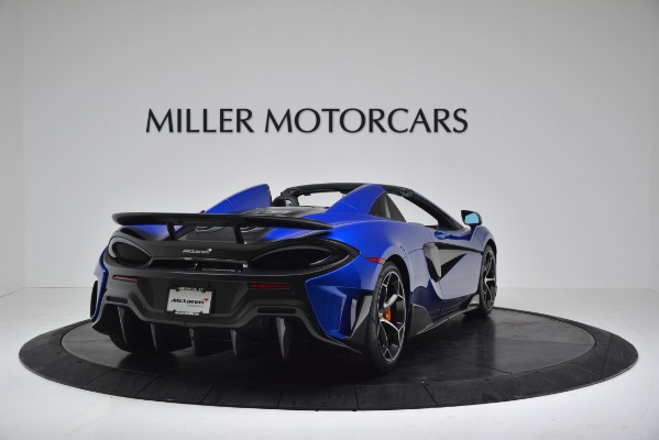 New 2020 McLaren 600LT SPIDER Convertible for sale $304,970 at Rolls-Royce Motor Cars Greenwich in Greenwich CT 06830 7