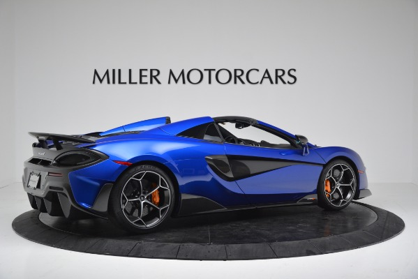 New 2020 McLaren 600LT SPIDER Convertible for sale $304,970 at Rolls-Royce Motor Cars Greenwich in Greenwich CT 06830 8