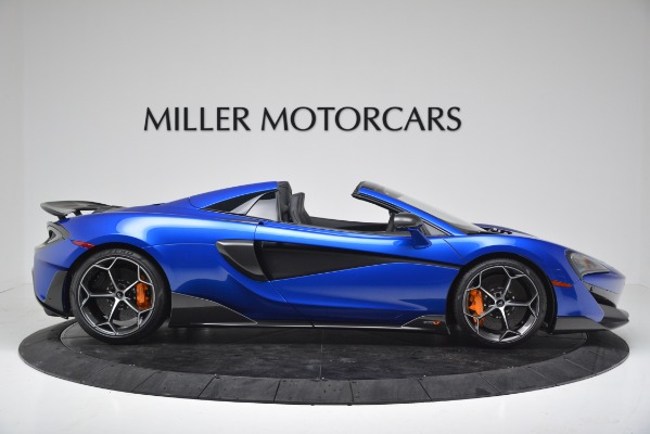 New 2020 McLaren 600LT SPIDER Convertible for sale $304,970 at Rolls-Royce Motor Cars Greenwich in Greenwich CT 06830 9
