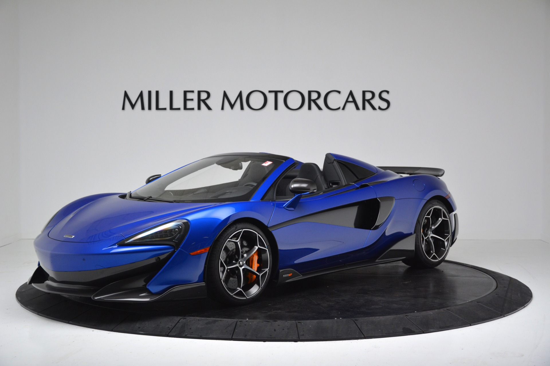 New 2020 McLaren 600LT SPIDER Convertible for sale $304,970 at Rolls-Royce Motor Cars Greenwich in Greenwich CT 06830 1