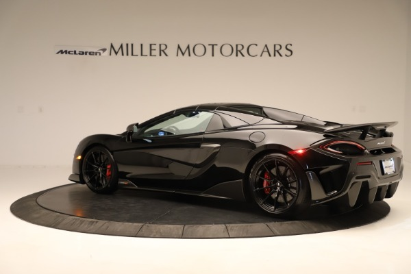 Used 2020 McLaren 600LT Spider for sale $249,900 at Rolls-Royce Motor Cars Greenwich in Greenwich CT 06830 11