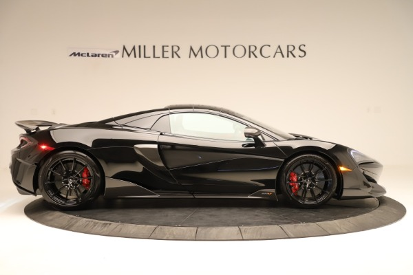 Used 2020 McLaren 600LT Spider for sale $249,900 at Rolls-Royce Motor Cars Greenwich in Greenwich CT 06830 14
