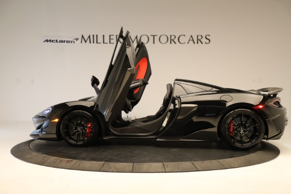 Used 2020 McLaren 600LT Spider for sale $249,900 at Rolls-Royce Motor Cars Greenwich in Greenwich CT 06830 18