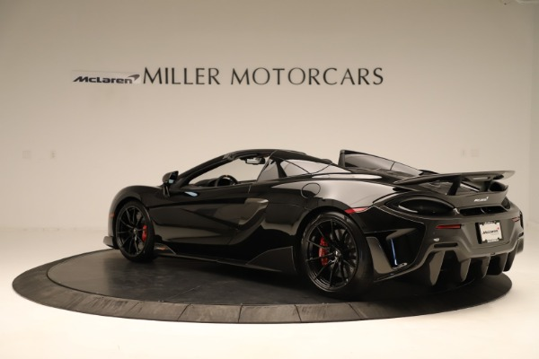 Used 2020 McLaren 600LT Spider for sale $249,900 at Rolls-Royce Motor Cars Greenwich in Greenwich CT 06830 3