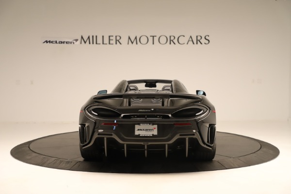 Used 2020 McLaren 600LT Spider for sale $249,900 at Rolls-Royce Motor Cars Greenwich in Greenwich CT 06830 4
