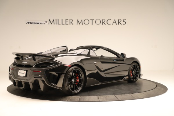 Used 2020 McLaren 600LT Spider for sale $249,900 at Rolls-Royce Motor Cars Greenwich in Greenwich CT 06830 5