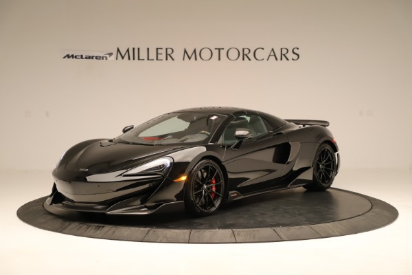Used 2020 McLaren 600LT Spider for sale $249,900 at Rolls-Royce Motor Cars Greenwich in Greenwich CT 06830 9