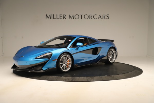 New 2020 McLaren 600LT SPIDER Convertible for sale $303,059 at Rolls-Royce Motor Cars Greenwich in Greenwich CT 06830 10
