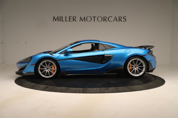 New 2020 McLaren 600LT SPIDER Convertible for sale $303,059 at Rolls-Royce Motor Cars Greenwich in Greenwich CT 06830 11