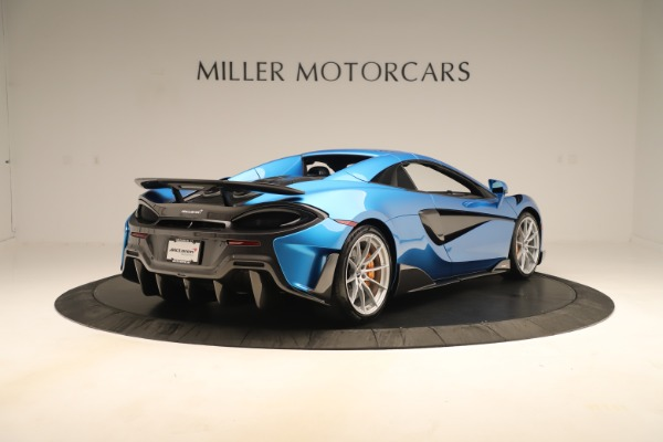 New 2020 McLaren 600LT SPIDER Convertible for sale $303,059 at Rolls-Royce Motor Cars Greenwich in Greenwich CT 06830 14