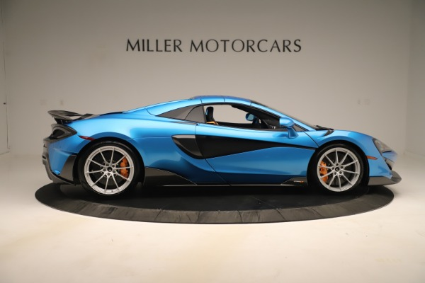 New 2020 McLaren 600LT SPIDER Convertible for sale $303,059 at Rolls-Royce Motor Cars Greenwich in Greenwich CT 06830 15
