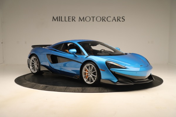 New 2020 McLaren 600LT SPIDER Convertible for sale $303,059 at Rolls-Royce Motor Cars Greenwich in Greenwich CT 06830 16