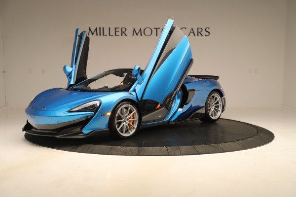 New 2020 McLaren 600LT SPIDER Convertible for sale $303,059 at Rolls-Royce Motor Cars Greenwich in Greenwich CT 06830 18