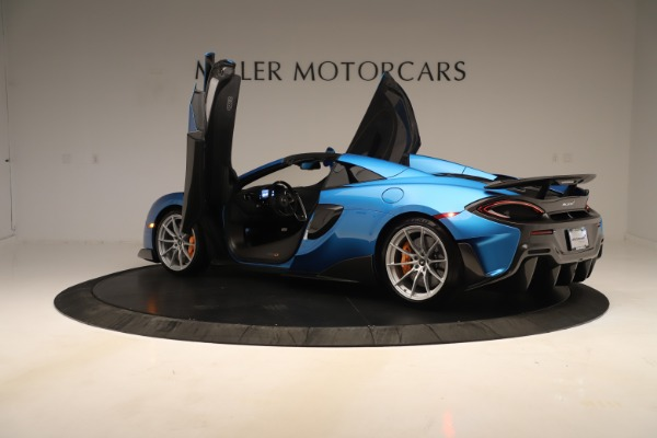 New 2020 McLaren 600LT SPIDER Convertible for sale $303,059 at Rolls-Royce Motor Cars Greenwich in Greenwich CT 06830 20