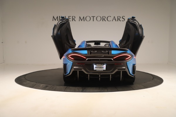 New 2020 McLaren 600LT SPIDER Convertible for sale $303,059 at Rolls-Royce Motor Cars Greenwich in Greenwich CT 06830 21