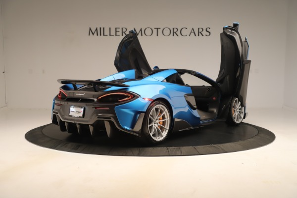 New 2020 McLaren 600LT SPIDER Convertible for sale $303,059 at Rolls-Royce Motor Cars Greenwich in Greenwich CT 06830 22