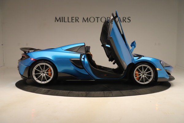 New 2020 McLaren 600LT SPIDER Convertible for sale Sold at Rolls-Royce Motor Cars Greenwich in Greenwich CT 06830 23