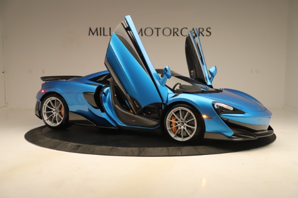 New 2020 McLaren 600LT SPIDER Convertible for sale $303,059 at Rolls-Royce Motor Cars Greenwich in Greenwich CT 06830 24