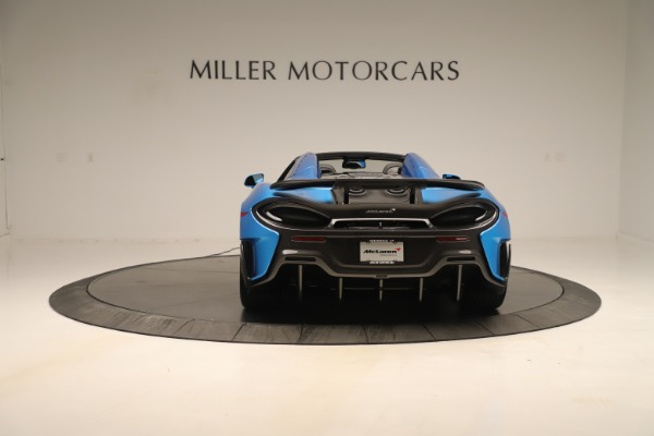 New 2020 McLaren 600LT SPIDER Convertible for sale $303,059 at Rolls-Royce Motor Cars Greenwich in Greenwich CT 06830 4