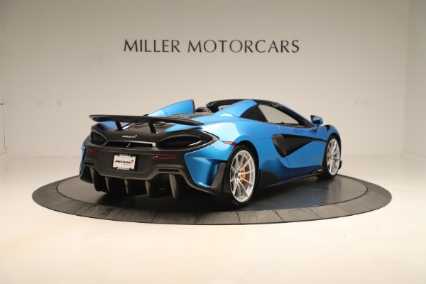 New 2020 McLaren 600LT SPIDER Convertible for sale $303,059 at Rolls-Royce Motor Cars Greenwich in Greenwich CT 06830 5