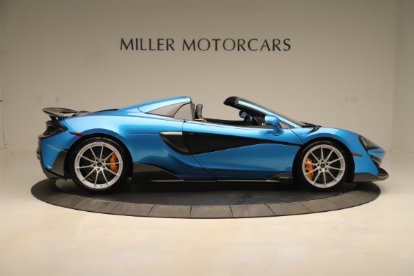 New 2020 McLaren 600LT SPIDER Convertible for sale $303,059 at Rolls-Royce Motor Cars Greenwich in Greenwich CT 06830 6