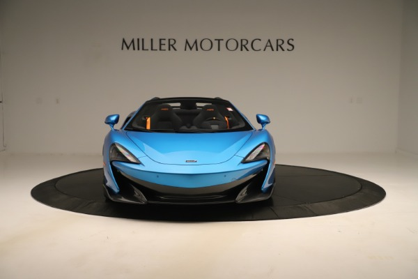 New 2020 McLaren 600LT SPIDER Convertible for sale $303,059 at Rolls-Royce Motor Cars Greenwich in Greenwich CT 06830 8